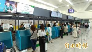 桃機旅客報到櫃檯再增   第二航廈南側三樓報到更方便