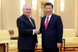 要求施壓北韓!美國務卿提勒森訪中會晤習近平