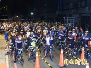 自行車挑戰武嶺 13國近2千車友出發