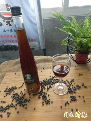 梅花鹿「認證」的有機小黑豆!滿州農會推新品