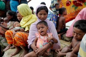 一天數萬名羅興亞難民湧入孟加拉 小孩接連死亡...