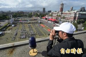 總統府領空遭突破 「消滅中華」氣球飛入禁航區