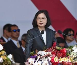 談國軍戰力 蔡總統:全力強化但不求戰