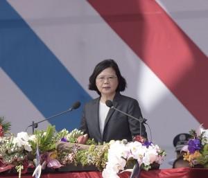 蔡總統宣示: 我們全力強化戰力,但不會求戰