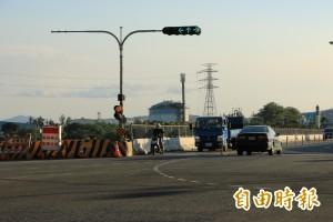 台13甲線豐湖段拓寬 北上車道縮減封閉