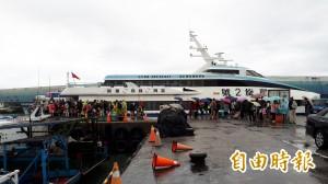 豪雨下不停 明天9航線、42船班停航