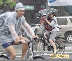 颱風外圍影響 明東、南部防豪大雨 好天氣等週一