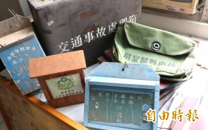 台南市第一個分局警史室在麻豆  挖寶展文物
