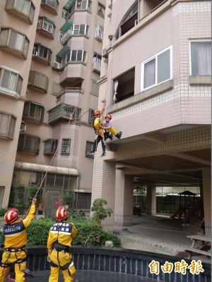 強化自助、共助、公助理念   台南首辦社區級地震救災演練