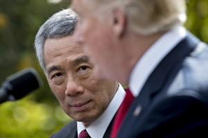 李顯龍會川普談北韓 促「國際合作解決北韓問題」