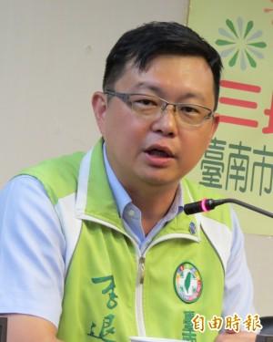 將接任農委會副主委 南市議員李退之未否認
