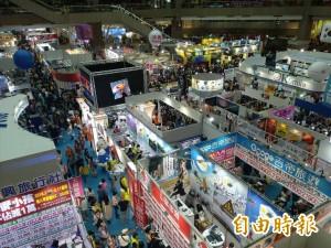 台北旅展第3日逾11萬人次 明天壓軸延至晚上7點