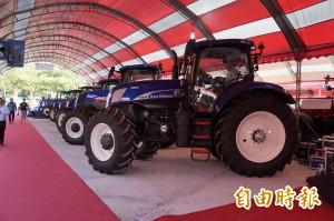 國際農機展現場成交金額逾3億元 創歷年最高