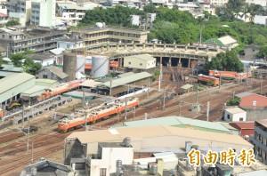 扇形車庫景觀廊道開工   打造五星鐵道觀光軸線