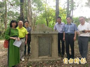 「校長亂動石碑就走了」 台南校園百年不可思議