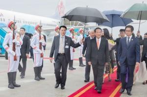 出席APEC領袖峰會 宋楚瑜抵越南峴港