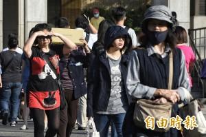 立冬日炎熱如夏 台北高溫飆32.4度平史上次高紀錄