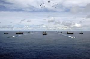 秀肌肉?川普亞洲行期間 美軍3航母將在西太平洋軍演