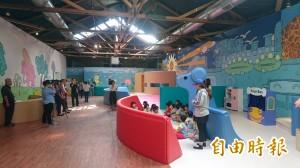 小朋友的天堂樂園  蕭壠兒童遊戲館開fun!