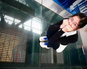 好膽來挑戰!  十三行開放18米高透明時光空橋