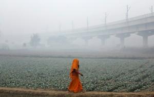 新德里霧霾依然嚴重 盼降雨解套「毒氣室」