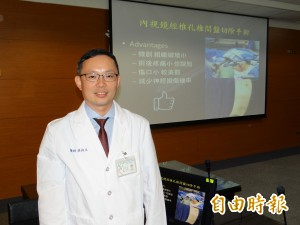 醫病》腰椎椎間盤突出壓神經痛 醫師:可考慮內視鏡切除