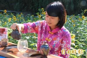 品茶兼拉陶窯 頭份半日遊體驗農村樂