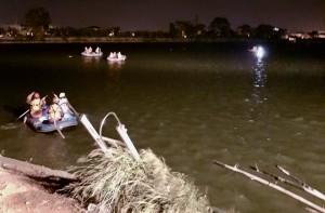 搭竹筏餵魚落池搜救10小時尋獲 今勘驗追查死因