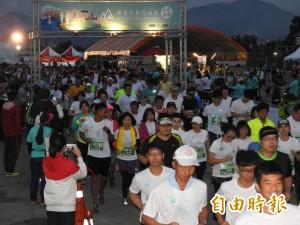埔里1200人開跑 雨後降溫更暢快