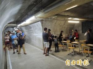 西子灣隧道前大排長龍   只為探訪「隧道中的隧道」