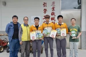 全國農業類科學生技藝賽 台東3農家子弟奪金手獎