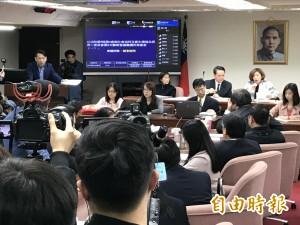 勞基法修正案逐條審查 徐永明杯葛失敗