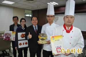 育達高中徐卉玟設計台灣黑熊吉祥物 獲金手獎全國第一