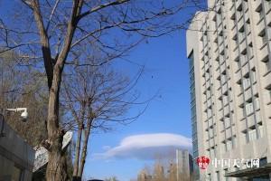 中國寧夏上空出現奇景 民眾大喊「飛碟!」