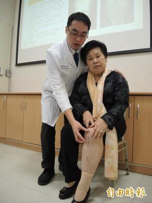 醫病》機器手臂治退化性關節炎 7旬婦不痛了「要環遊世界」