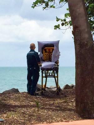 有洋蔥!安寧病患想看海 救護車繞路一償心願
