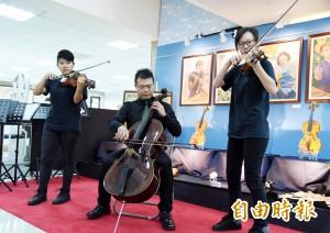 打造小提琴基地  屏科大以台灣木做「學院琴」