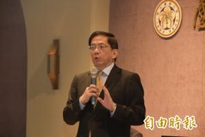 管中閔參選台大校長 要走國際推亞洲旗艦、未來大學