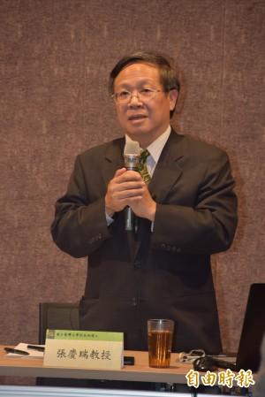 張慶瑞參選台大校長 擬推國立大學系統