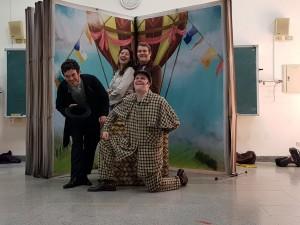 美籍ArtSpot劇團跨海來台南 演出「環遊世界80天」英語劇