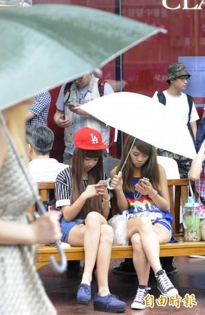 韓研究:青少年若手機成癮 焦慮憂鬱全上身