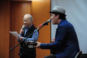 你朗讀、我歌唱 吳晟、吳志寧父子對樹木情深深