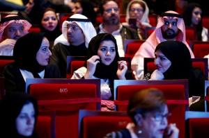 解禁!沙烏地阿拉伯35年來首度開放經營電影院