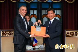 法國國民議會友台小組來訪 林佳龍盼促台法交流