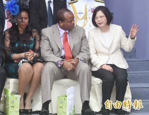 史瓦濟蘭外長來訪 總統:最堅實的友邦