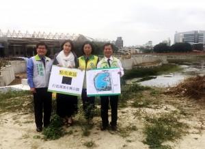 台中糖廠大水池 議員建議打造「水舞公園」