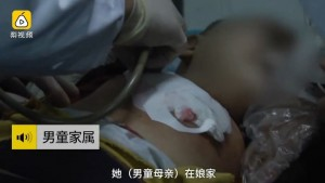 強國媽媽與丈夫吵架  失控持剪刀刺破幼子肺部