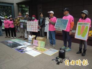 反對中油接收站破壞藻礁   環團送4300封信給總統