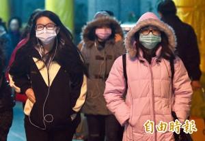 強烈大陸冷氣團來襲 氣象局:台南明入夜體感溫度9度