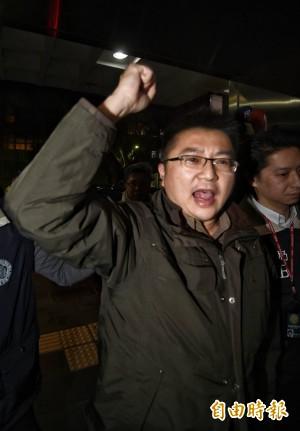 林明正訊後請回 怒批蔡政府打壓「支持統一的朋友」